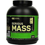 Optimum Nutrition Serious Mass Gainer, Chocolate, 1er Pack (1 x 2727g)