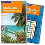 POLYGLOTT on tour Reiseführer Malaysia Mit großer Faltkarte, 80 Stickern und individueller App