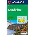 Madeira Wanderkarte mit Aktiv Guide und Stadtplan. GPS-genau.1 50000 (KOMPASS-Wanderkarten, Band 234)