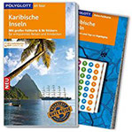 POLYGLOTT on tour Reiseführer Karibische Inseln Mit großer Faltkarte, 80 Stickern und individueller App