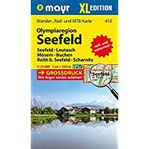 Olympiaregion Seefeld XL Wander-, MTB- und Tourenkarte. GPS-genau. Großdruck. 1 25000 (Mayr Wanderkarten)