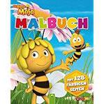 Malbuch Die Biene Maja Mit 128 farbigen Seiten