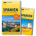 ADAC Reiseführer plus Spanien mit Maxi-Faltkarte zum Herausnehmen
