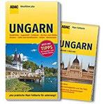 ADAC Reiseführer plus Ungarn mit Maxi-Faltkarte zum Herausnehmen