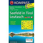 Seefeld in Tirol, Leutasch Wandern Rad Langlauf. Mit Panorama. GPS-genau. 1 25.000