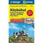 Kitzbühel XL Wander-, Rad- und Mountainbikekarte. GPS-genau. 1 25000 (Mayr Wanderkarten)