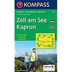 Zell am See, Kaprun Wandern, Rad, Langlauf, Skitouren. Mit Panorama. GPS-genau. 35.000