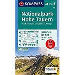 Nationalpark Hohe Tauern, Großvenediger, Großglockner, Ankogel 3 Wanderkarten 1 50000 im Set inklusive Karte zur offline Verwendung in der ... Skitouren. (KOMPASS-Wanderkarten, Band 50)