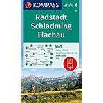 Radstadt, Schladming, Flachau 4in1 Wanderkarte 1 50000 mit Aktiv Guide und Detailkarten inklusive Karte zur offline Verwendung in der KOMPASS-App. ... Skitouren. (KOMPASS-Wanderkarten, Band 31)