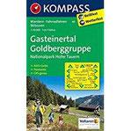 Gasteinertal - Goldberggruppe - Nationalpark Hohe Tauern Wanderkarte mit Aktiv Guide, Panorama, Radrouten und alpinen Skirouten. GPS-genau. 1 50000 (KOMPASS-Wanderkarten, Band 40)