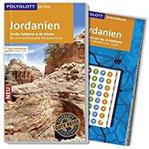 POLYGLOTT on tour Reiseführer Jordanien Mit großer Faltkarte, 80 Stickern und individueller App