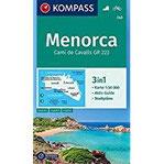 Menorca 3in1 Wanderkarte 1 50000 mit Aktiv Guide und Stadtplänen. Fahrradfahren. (KOMPASS-Wanderkarten, Band 243)