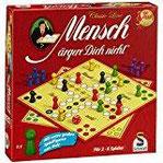 Schmidt Spiele 49085 - Classic Line Mensch ärgere Dich nicht mit extragroßen Spielfiguren