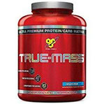 BSN True Mass Strawberry Milk Shake, 1er Pack (1 x 2.61 kg)