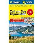 Zell am See, Kaprun XL Wander-, Rad- und Mountainbikekarte. GPS-genau. 1 25000 (Mayr Wanderkarten)