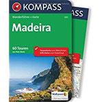 Madeira Wanderführer mit Extra-Tourenkarte, 60 Touren, GPX-Daten zum Download (KOMPASS-Wanderführer, Band 5915)