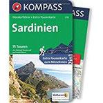 Sardinien Wanderführer mit Extra-Tourenkarte, 75 Touren, GPX-Daten zum Download. (KOMPASS-Wanderführer, Band 5770)