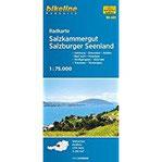 Bikeline Radkarte Salzkammergut. Salzburg - Gmunden - Hallein - Bad Ischl - Mondsee - Wolfgangsee - Attersee - Traunsee - Tennengau, RK-A0, wasserfest reißfest,