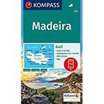 Madeira 4in1 Wanderkarte 1 50000 mit Aktiv Guide und Detailkarten inklusive Karte zur offline Verwendung in der KOMPASS-App. (KOMPASS-Wanderkarten, Band 234)