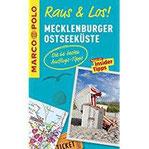MARCO POLO Raus & Los! Mecklenburger Ostseeküste Das Package für unterwegs Der Erlebnisführer mit großer Erlebniskarte