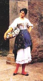 EUGENE DE BLAAS - La fioraia