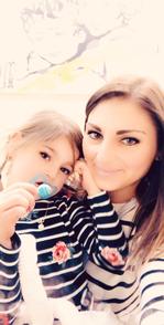 Herzkind Zoey mit ihrer Mama