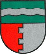 Das Wappen der Gemeinde Oberndorf