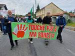 Manifestation à Lannemezan 29 et 30 mai 2021