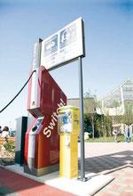 Puntos de recargas para coches eléctricos