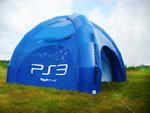 Luft-Zelt