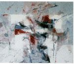 MIGUEL ANGEL ALAMILLA, Anteproyecto, óleo/tela, 90x107cm, 2011.