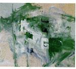 MIGUEL ANGEL ALAMILLA, Acción en el espacio, óleo/tela, 80x100cm, 2011.