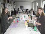 im Atelier Margit Buß