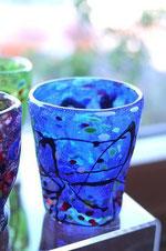 器とコーヒー Lien りあん のギャラリー: ベネチアンガラス お洒落なグラス