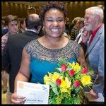 1. Preis, Hilde Zadek Gesangswettbewerb 2015: RAEHANN BRYCE-DAVIS, MEZZOSOPRAN (Foto: Fayer)