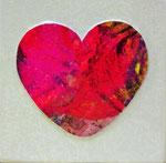 Herzbilder, Künstler Wilhelm Schall, Kunst kaufen, mieten