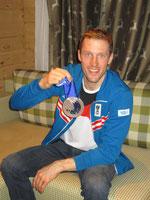 Dominik Landertinger mit erster Medaille für Österreich
