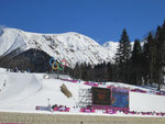 Olympische Langlauf-Strecke
