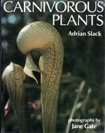 Carnivorous Plants - Adrian SLACK - Couverture de l'édition de 1988