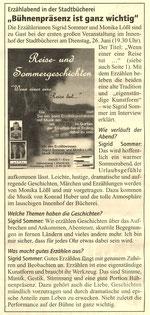 Mitteilungsblatt der Stadt Erding, Hr. Wanninger, vom 14. Juni 2012