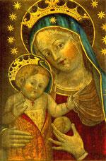 Caterina da Bologna - Madre di Dio