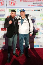 Misak Aslanyan am 10.03.18: 1. BOX-Bundesliga beim BSK Hannover-Seelze