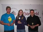 v.l.n.r. Benjamin Rhinow (Platz 3), Selina Griesbaum (Platz 1), Michael Munz (Platz 2)
