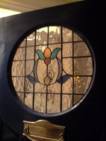 Front door Stained glass by rossglassdesigns.com