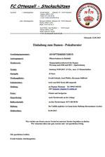 Ausschreibung Damen Pokalturnier | fcottenzell-eisstock.de
