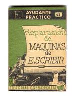 REPARACION de MAQUINAS de ESCRIBIR Carlos Forbes 1953