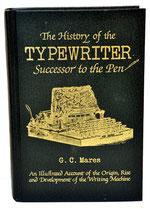 TYPEWRITER Successor Pen C.G.Mares 1985