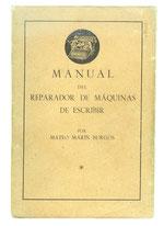 REPARADOR de MAQUINAS de ESCRIBIR Mateo Marin 1936