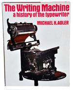 WRITING MACHINE M.Adler 1973