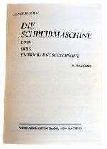 DIE SCHREIBMASCHINE E. Martin 1981